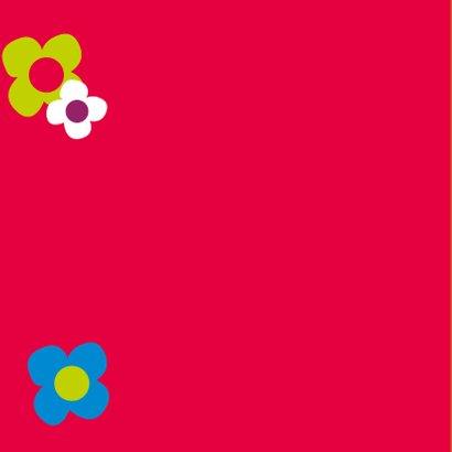 Bloemen verjaardagskaart - SZ 2