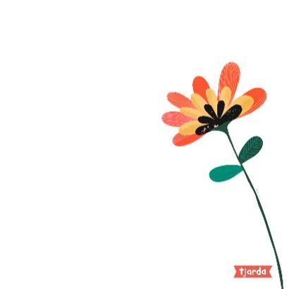 Bos bloemen op waterverf 3