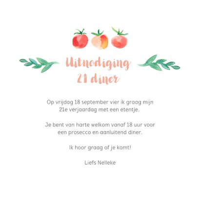 Botanische 21-diner uitnodiging 3