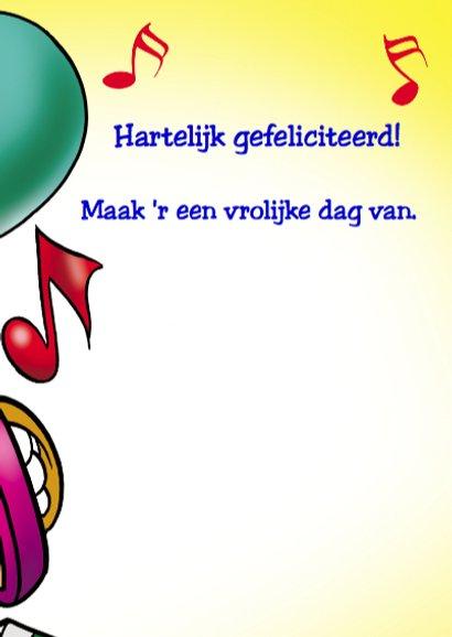 clowns verjaardag 1 clown twee ballonnen 3