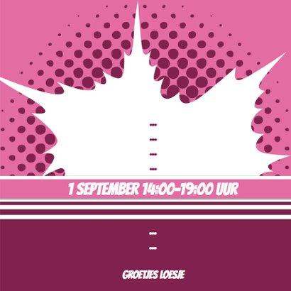 Collage Feestje roze - BK 3