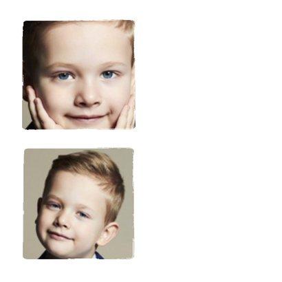 Communie 3 foto's collage - BK 2