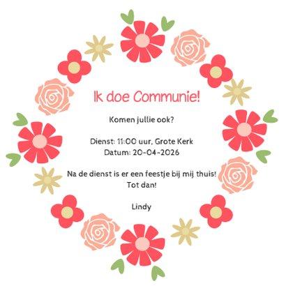 Communie Bloemenkrans - DH 3