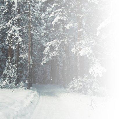 Condoleance - gecondoleerd winter 2