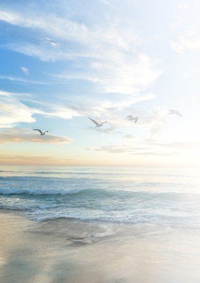 Condoleance - veel sterkte zee  2