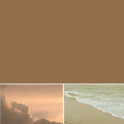 Condoleancekaart zee en wolken - SK 3