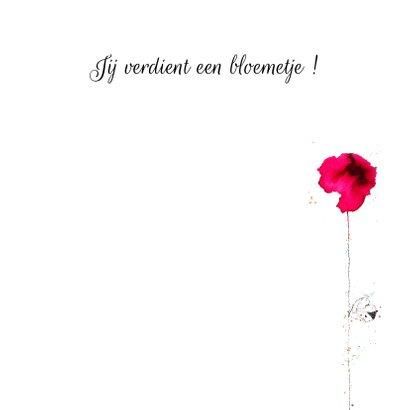 Dit bloemetje voor jou 3