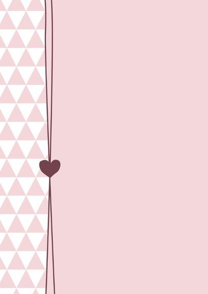 Driehoekjes met hartje, meisje 2