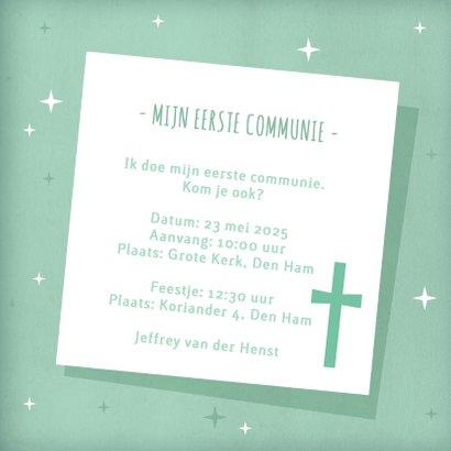 Eerste communie fotokaart collage  3