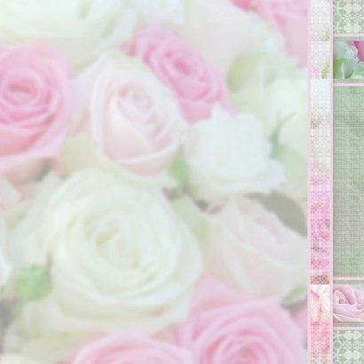Feest met roze rozen 3