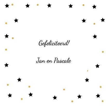 Felicitatie 50 jaar Ballon goud 3