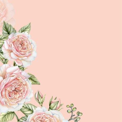 Felicitatie botanische rozen 2