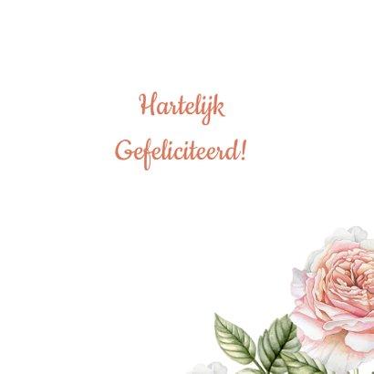 Felicitatie botanische rozen 3