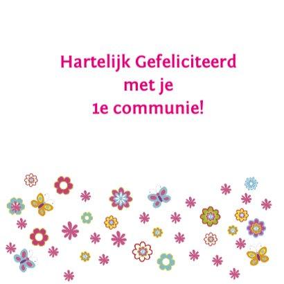 felicitatie communie bloemen 3