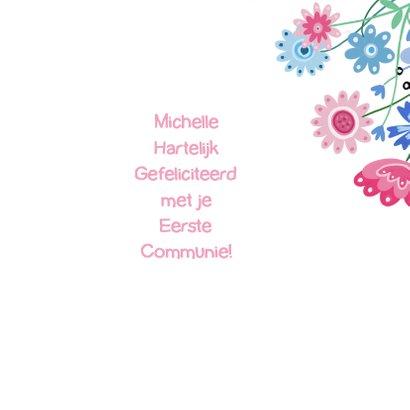 Felicitatie communie label 3