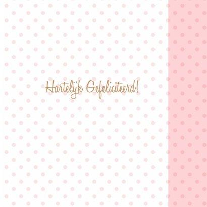 Felicitatie dochter hart craft 3