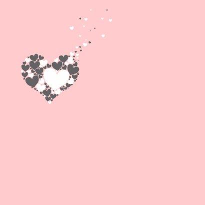 Felicitatie - Harten hart meisje 2