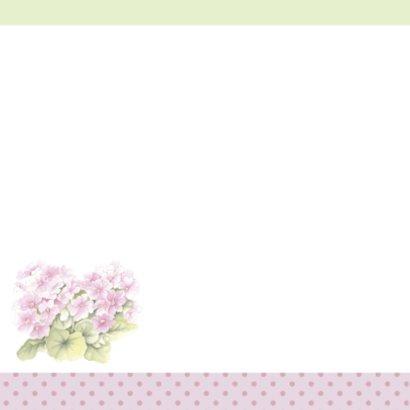 Felicitatie konijn met bloemen 2