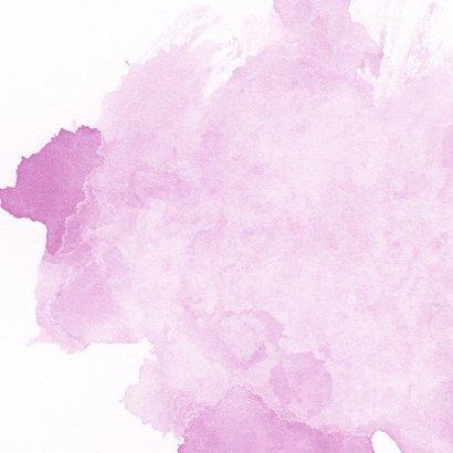 Felicitatie - lovely little one met naam roze 2
