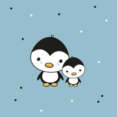 Felicitatie - Pinguïn broertjes 2