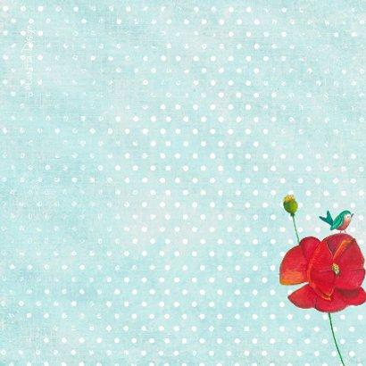 Felicitatie Vrolijke Bloemen 2