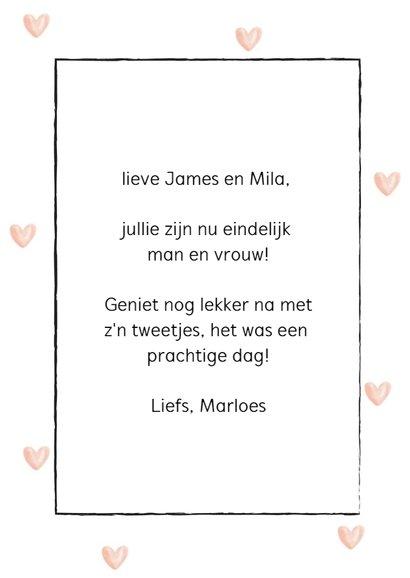Felicitatiekaart - Congratulations you're married! 3