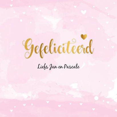 Felicitatiekaart Geboorte its a Girl 3