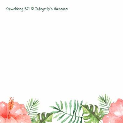 Felicitatiekaart Tropical Opwekking 571 - WW 2