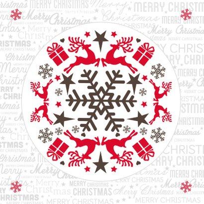 Fijne kerstdagen wit - BK 2