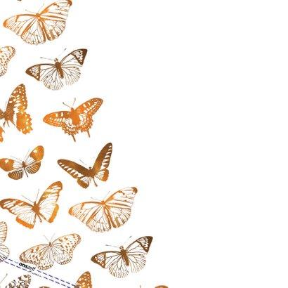 Fly High It's your birthday! verjaardagskaart met vlinders 2