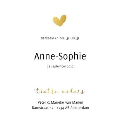 Fotokaart met gouden letters 3
