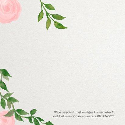 Geboorte bladeren meisje - DH 2
