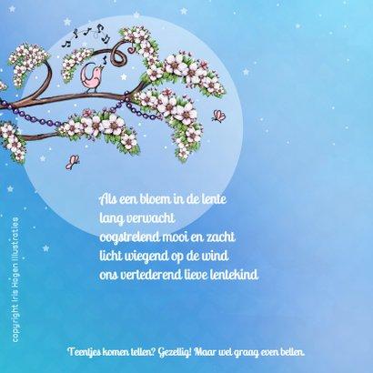 Geboorte bloesem lente lila - IH 2