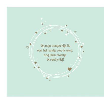 Geboorte - Cirkels met confetti en hartjes 2