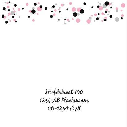 Geboorte - Confetti meisje 2