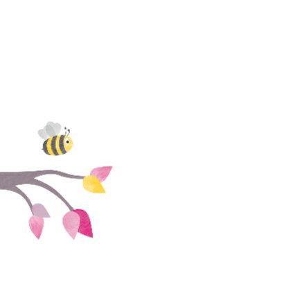 Geboorte dochter - roze uiltje 2