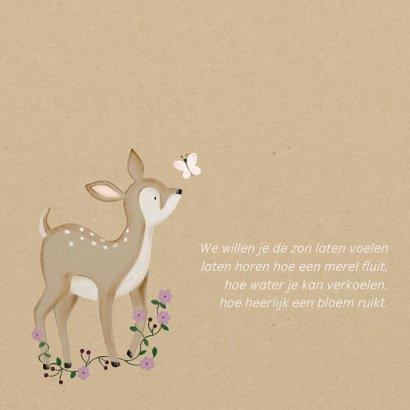 Geboorte Hertje Bloemen  2