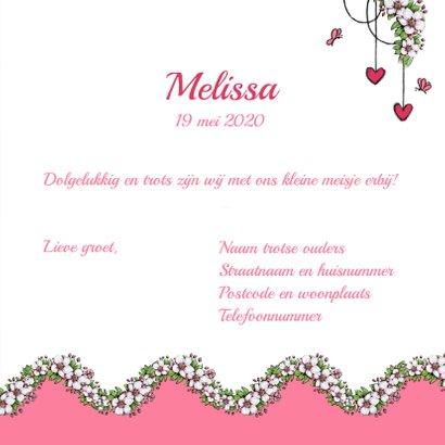 Geboorte lente bloesem roze - IH 3