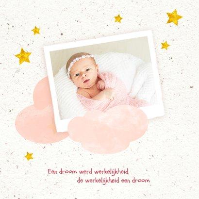 Geboorte meisje in de wolken 2