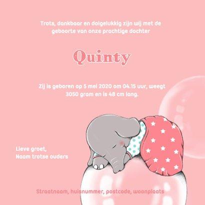 Geboorte olifant droom - IH 3