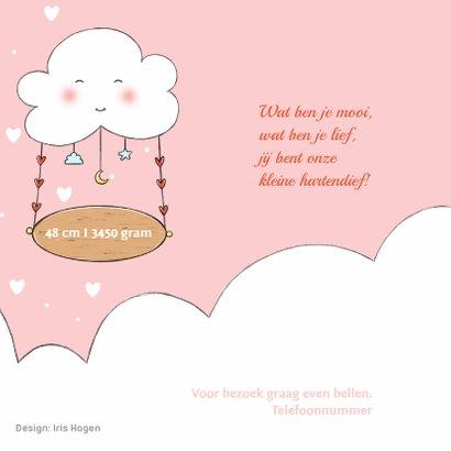 Geboorte olifantje wolk Rosie IH 2