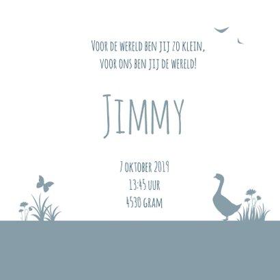 Geboorte silhouet jimmy - B 3