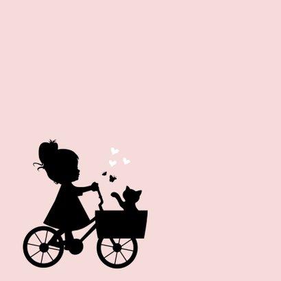 Geboorte silhouet olivia - B 2