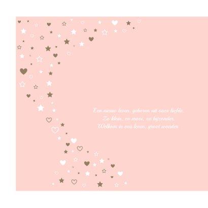 Geboorte - Sterren en hartjes voor een meisje 2