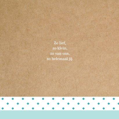 Geboortekaart Hollandse molen Mees 2