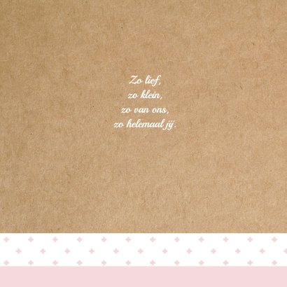 Geboortekaart Hollandse molen Mieke 2