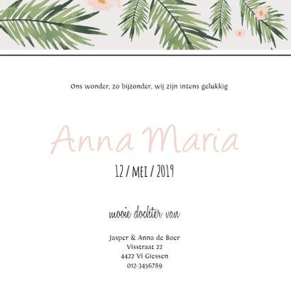 Geboortekaartje Anna - HM 3