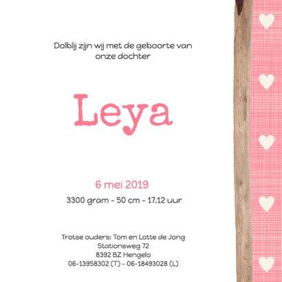 Geboortekaartje-bloem-Leya-SK 3