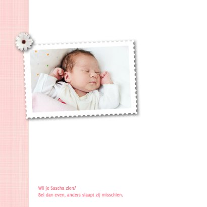 Geboortekaartje-bloem-Sascha-SK 2