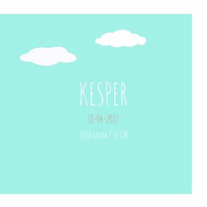 Geboortekaartje Kesper BerenHip! 3
